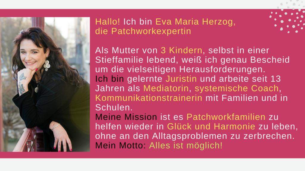 Patchworkfamilie Patchworkexpertin Glück Harmonie Alltagsprobleme