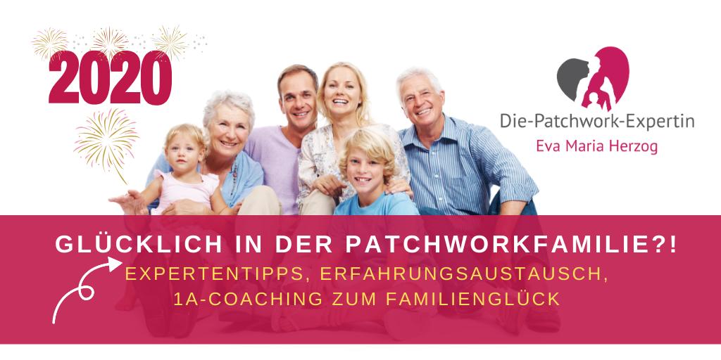 Gruppe Patchworkfamilien